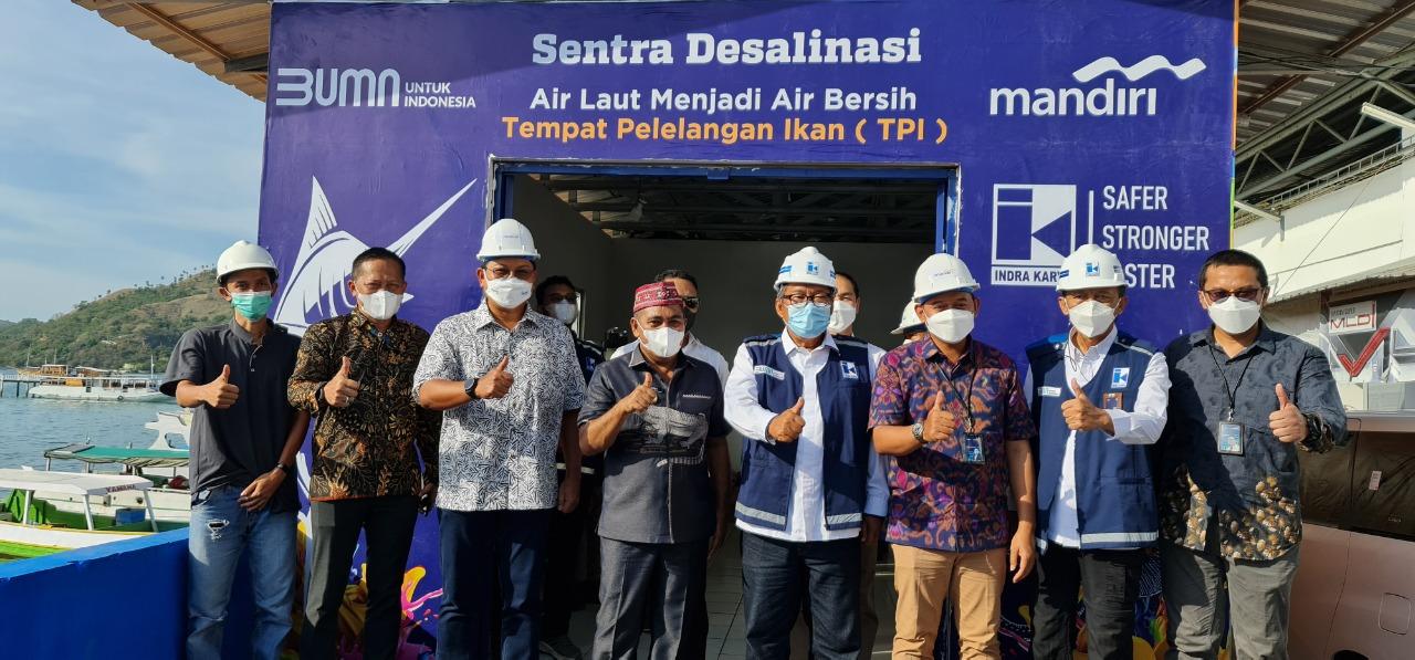 BMRI Dorong Penguatan Ekonomi Masyarakat, Kolaborasi Indra Karya & Mandiri Salurkan Bantuan 2,1 Milyar untuk Hadirkan Air Bersih di Labuan Bajo – Koran ...